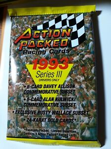 1993 ACTION PACKED series 3 ....wax  packs includes random 24k inserts