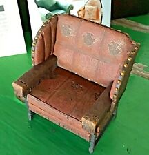 Vintage Take A Seat By Raine Miniature Dollhouse Billiard Room Chair C.1895 Nib