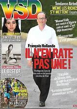 VSD N°1977 16 JUILLET 2015 HOLLANDE/ CALENDRIER PIRELLI/ ATTENTATS PARIS/ TRAIL