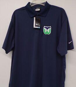 Hartford Whalers NHL Hockey Nike Golf Embroidered Mens Polo XS-4XL, LT-4XLT New