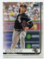 2019 Topps #49 MICHAEL KOPECH Chicago White SOx ROOKIE CARD RC Series 1