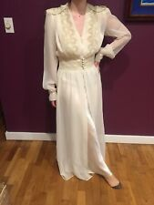 40's Vintage Peignoir Set Robe and nightgown set