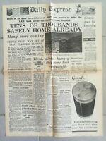 Fac similé Journal DAILY EXPRESS 31 MAI 1940