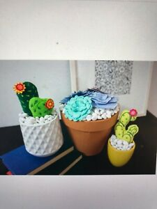 3D Cactus Anita Goodesign Embroidery Machine Design CD Used