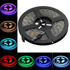 5M SMD 5050 RGB LED Strip Waterproof 300 LEDs Light Flexible 60/M IP65 12V US