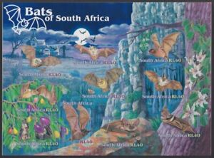 SOUTH AFRICA - 2001 Bats of South Africa sheetlet (MNH)