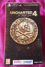 UNCHARTED 4 A THIEF'S END EDITION COLLECTOR  SONY PS4 NEUF NEW 100% FRANCAIS