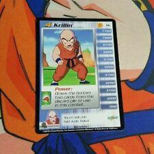 Dragon Ball Z Score CCG Krillin Lvl 4 P6 Saiyan Saga PROMO Personality DBZ TCG