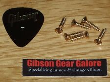 Fender Stratocaster Pickguard Screw Set Gold Guitar Parts Telecaster Project 6