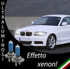 COPPIA LAMPADINE H7 BMW SERIE 1 EFFETTO XENON 55w ANABBAGLIANTI