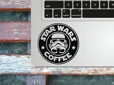 Star Wars Coffee Macbook palmrest decal / Laptop sticker / fun decal stencil