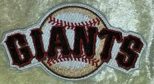 """San Francisco SF Giants 3.5"""" Iron On Embroidered Patch ~FREE Ship!!~"""