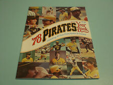1978 PITTSBURGH PIRATES OFFICIAL YEARBOOK
