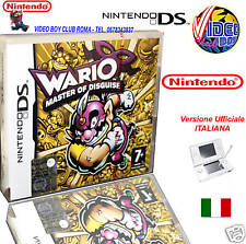 WARIO MASTER OF DISGUISE NUOVO ITA @ @ NDS DS