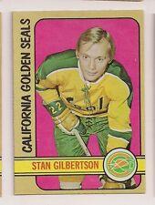 1972-73 OPC #70 STAN GILBERTSON CALIFORNIA GOLDEN SEALS  O-PEE-CHEE
