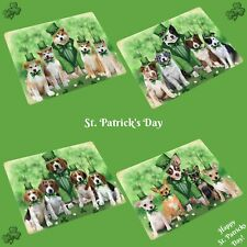 St. Patrick's Day Refrigerator Magnets, Dogs, Cats, Pet Photo Magnet Gifts