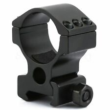 Compact 30mm Scope Mount Ring for 20mm Weaver/Picatinny Rifle Laser Flashlight