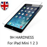 9H Real Tempered Glass Clear HD Film Screen Protector For Apple iPad Mini 1/2/3