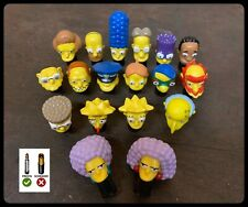 SIMPSONS PRESTA VALVE DUST CAPS/COVERS X2 (PAIR) SELECT YOUR CHARACTER BICYCLE