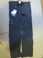 Mens New Salomon Wayfarer Terrain Pant Size 30R Color Black