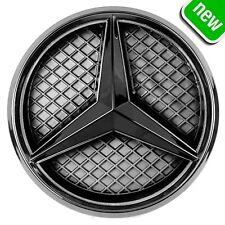 Mercedes Benz 2011-2018 Led White Light Black Grill Star Logo Badge Emblem Front