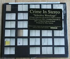 Crime in Stereo - Selective Wreckage (2008) - A New CD - In Wrappers