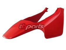 HONDA Z50 RED REAR BACK FENDER SIDE NUMBER PLATES 1988 - 1999 88-99 Z 50