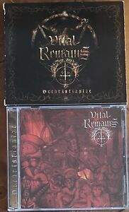 vital remains - dechristianize cd slipcase (olympic 2003) vader belphegor morbid