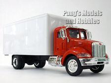 Peterbilt 335 Box Truck 1/43 Scale Diecast Metal Model by NewRay