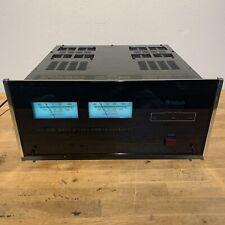 McIntosh MC2002 Power AMP Amplifier 200 Watt Stereo Dual 2 Channel Working Perfe
