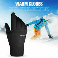 Mens Womens Lady Liner Gloves Thermal Walking Sports Running Touch Screen Gloves