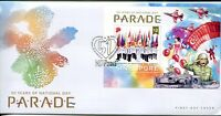 SINGAPORE STAMP 2016 50th YEARS OF NATIONAL DAY PARADE FDC