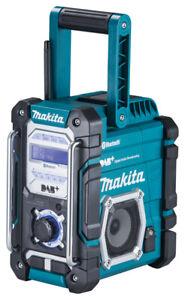 Makita Akku-Baustellenradio DMR112 7,2-18V mit DAB/DAB+/Bluetooth