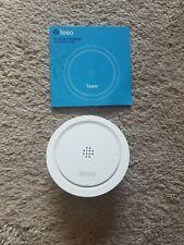 Leeo Smart Alert Nightlight Smoke and Carbon Monoxide Remote Alarm Monitor