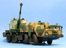 PRO-BUILT 1/35 A-222 BEREG Russian Coastal Defence SPG finished model