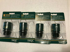 (4) MELNOR 5MQC Snap - It Quick Hose Connector Female  Coupling With Male Thread
