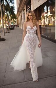 New With Tags Authentic BERTA Muse City of Angels Camila Size 0 US Wedding Dress