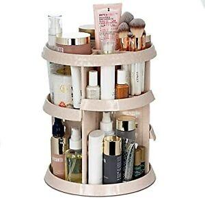Luxley Beauty Large 360 Adjustable Rotating Vanity Makeup Organizer