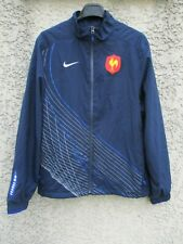 Veste rugby QUINZE de FRANCE NIKE training collection jacket tracktop FFR M