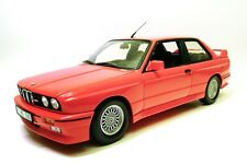RARE BMW M3 E30 Minichamps Red Delaer ed 1/18