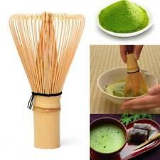 Japanese Ceremony Bamboo 64 Matcha Powder Whisk Green Tea Chasen Brush Tool b