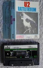 U2 Bono Edge Rattle & Hum Rare Import Asian Cassette Rock Pop music 1980s