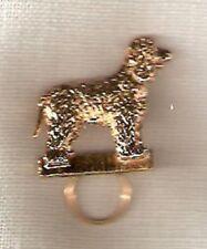 Irish Water Spaniel Gold Plated Eye Glass Holder Pin Jewelry