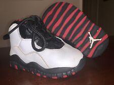 Toddler Jordan 10 Retro Athletic Shoes 'Chicago 2012' - Size 4C