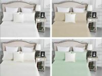 1000TC Egyptian Cotton Sheet Set Queen King Double KS Single 4 or 3 Pieces