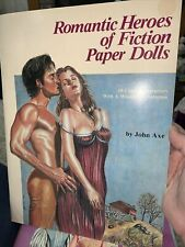 Romantic Heroes of Fiction paper Dolls, John Axe Uncut
