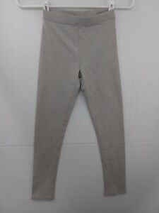 CREWCUTS Girl's sz 8 Gray Leggings NWT $18.50   38566