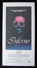 INFERNO 1980 Dario Argento LINEN BACKED daybill Movie poster