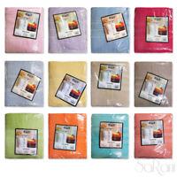 Set Asciugamani 3 Pezzi Telo Doccia Viso Ospite Vari Colori 100% Cotone SARANI