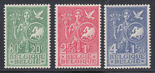 Belgium Sc B544-B546 MNH. 1953 Allegory for Youth Assistance, complete set